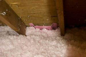 New Insulation installed in Pasadena attic
