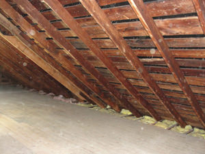 An Under-insulated Attic in Maryland | Poor Attic Air Sealing in Maryland