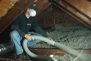 Cellulose Insulation Installation In Greater Columbia